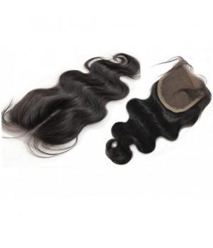Closure cheveux Rémy 100% naturel 14 pouce