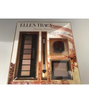 ELLEN TRACY palettes pour les yeux + pinceau + poudre bronzante