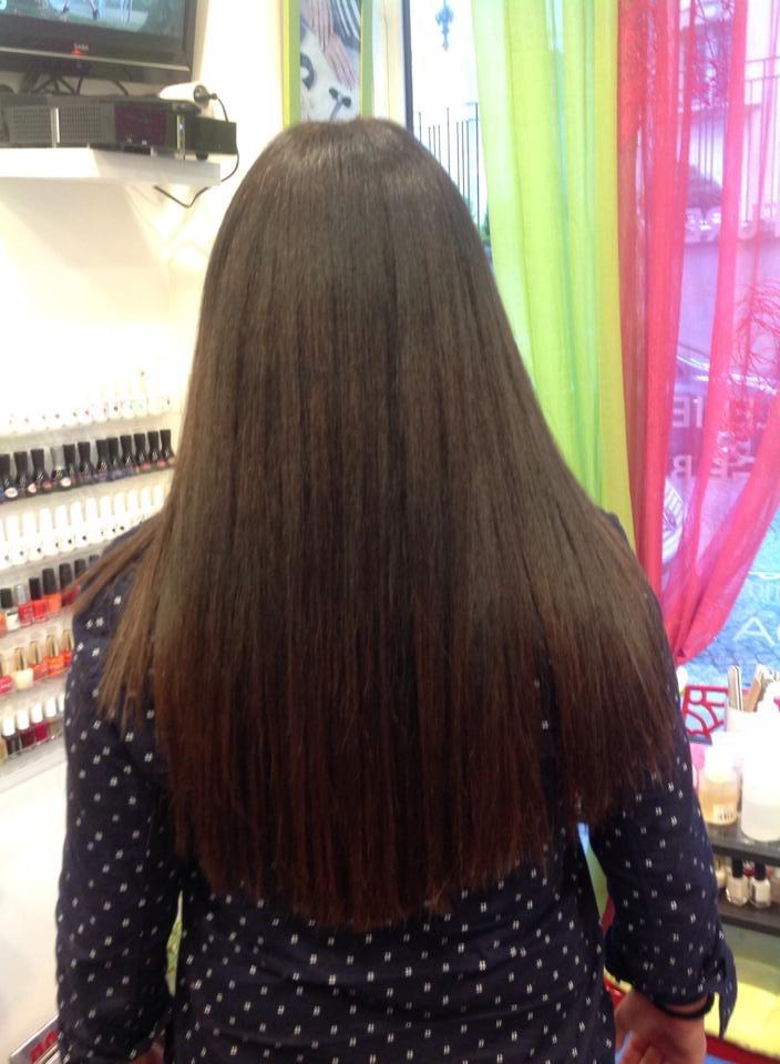 extension de cheveux a la keratin