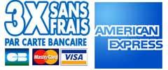 Cartes bancaires acceptées