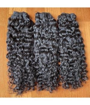 Tissage Boucle  cheveux remy hair naturelle