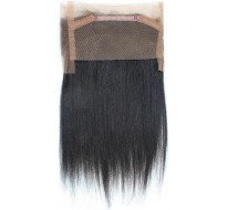 Lace frontal cheveux Virgin lisses